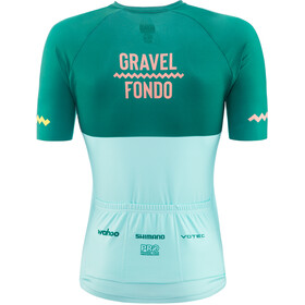 Gravel Fondo Jersey Men, forest sky